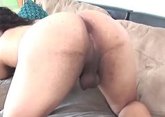 Casting tgirl shakes say no to big booty
