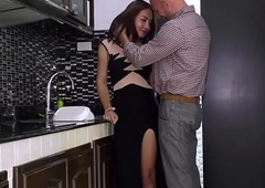 Having it away Ladyboy Nanny Alongside the Abode