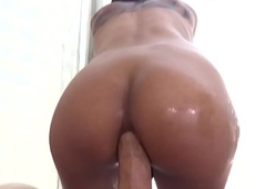 Ladyboy Tartlet In excess of Colossal Raw Dick