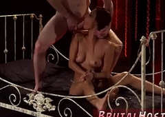 Tranny dominates white girl and euro rough anal threesome xxx Poor