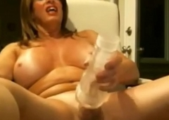 Busty Trannie Plays Not far from the brush Cock and Cums