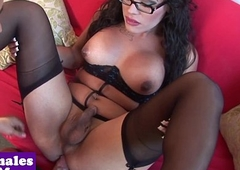 Busty glam tranny assfucked croak review blowjob