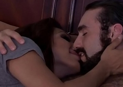 Bigtitted latina ladyman sxtynines then fucks
