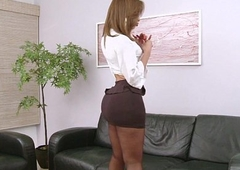 Gabrielli Bianco added to her massive she-cock