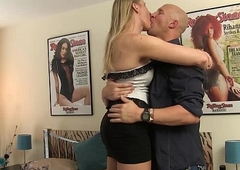 blonde give someone a tongue-lashing Red Vex gets loved down &amp_ banged without a condom