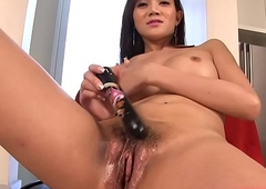 Post-Op Ladyboy With A Vibrator
