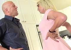 busty beauteous MILF Jenna Ranee gets barebacked