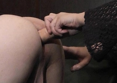 Femdom fit together fucks naughty T-Girls