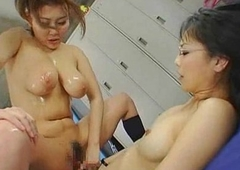 Oriental Squirts On Futanari Teen!
